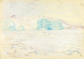 view Icebergs and Cliffs, Head of Bowdoin Bay digital asset number 1