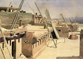 view Street in the Pueblo of Zuni, New Mexico digital asset number 1