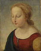 view Head of the Madonna (from la Belle Jardiniere) digital asset number 1