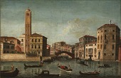 view Scene on the Grand Canal, Venice digital asset number 1