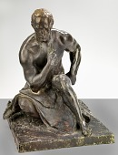 view Preliminary Model of Male Figure from Fountain of Engineers digital asset number 1