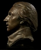 view Head of Marquis de Lafayette (Lafayette Monument, Paris, France) digital asset number 1