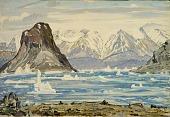 view Erics Fjord (Across from Brattahild) digital asset number 1