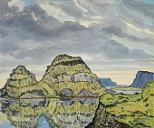 view Hrappsey (A Group of Islands Where Eric the Red Sheltered His Ship prior to His First Voyage to Greenland) digital asset number 1