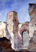 view Baths of Caracalla, Rome digital asset number 1