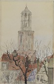 view Tower of the Cathedral of Utrecht, Holland digital asset number 1
