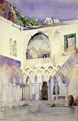view Courtyard, Capucine Monastery, Amalfi digital asset number 1