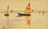view Sailboats (Venice) digital asset number 1