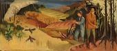 view Reforestation (mural study, Haleyville, Alabama) digital asset number 1