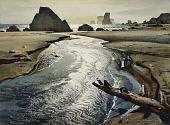view Tide Water Creek, Oregon digital asset number 1