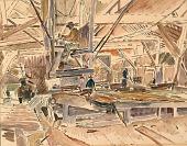 view Inside A Lumber Mill digital asset number 1