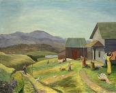 view Untitled (Farm Scene) digital asset number 1