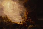 view The Pilgrim of the Cross at the End of His Journey (study for series, The Cross and the World) digital asset number 1