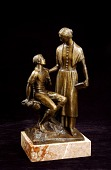 view Nancy Hanks and Boy Abraham Lincoln (#1) digital asset number 1