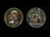 view Charles A. Platt Portrait Medal digital asset number 1