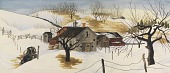 view Beatty's Barn (study for mural, Canonsburg, Pennsylvania Post Office) digital asset number 1