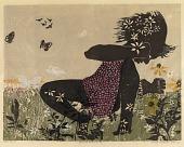 view Girl with Butterflies #2 digital asset number 1