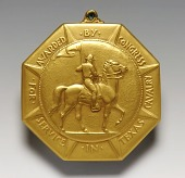 view Texas Cavalry Medal (obverse) digital asset number 1