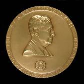 view Bernard M. Baruch Distinguished Service Award (obverse) digital asset number 1
