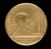 view Galveston Diocese Centennial Medal digital asset number 1