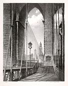 view High Arches, Brooklyn Bridge digital asset number 1