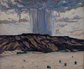 view Cloudburst at Black Mesa, New Mexico digital asset number 1