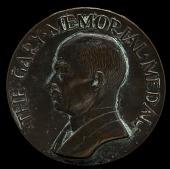 view Elbert H. Gary Portrait Medal digital asset number 1