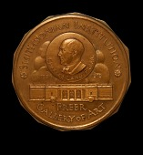 view Charles Lang Freer Medal (obverse) digital asset number 1