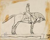 view Sketch for Equestrian Statue of General Ulysses S. Grant digital asset number 1