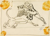 view Hercules and the Nemean Lion digital asset number 1