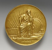 view Henry C. Turner Medal for Notable Achievement in the Concrete Industry (obverse) digital asset number 1