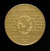 view Henry C. Turner Medal for Notable Achievement in the Concrete Industry (reverse) digital asset number 1