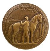 view Paul Revere Sesquicentennial Medal (obverse) digital asset number 1