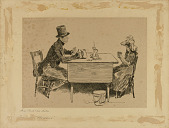 "view Tom Pinch and His Sister, from ""Martin Chuzzlewit"" digital asset number 1"