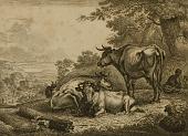 view Les Trois Vaches en Repos digital asset number 1