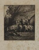 view Woman Feeding Hogs digital asset number 1