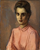 view Woman in Pink Blouse digital asset number 1