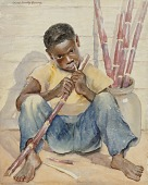 view (Boy with Sugar Cane) digital asset number 1