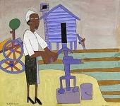view Woman Pumping Water digital asset number 1