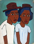 view Two Women with Hats digital asset number 1