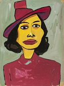 view Woman in a Red Hat digital asset number 1