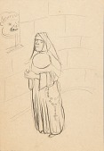 view Sketch of a Nun digital asset number 1