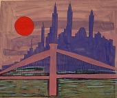 view New York Skyline at Night digital asset number 1