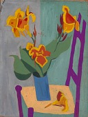 view Still Life--Chair and Flowers digital asset number 1