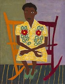view Portrait of Woman in Rocking Chair digital asset number 1