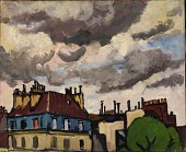view Rooftops and Clouds, Paris digital asset number 1