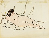 view Reclining Nude, Back View digital asset number 1