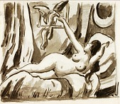 view Reclining Female Nude digital asset number 1