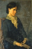 view Hester Marian Wait Lay, Portrait of the Artist's Wife digital asset number 1