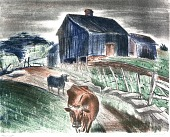 view Cows and Barn digital asset number 1